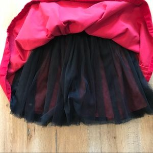 Harajuku Mini Red Tulle Dress